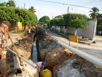 Drinking water and drainage networks